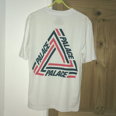 10d14f9bb413 PRICE DROP Palace tri-crib t-shirt in white. white