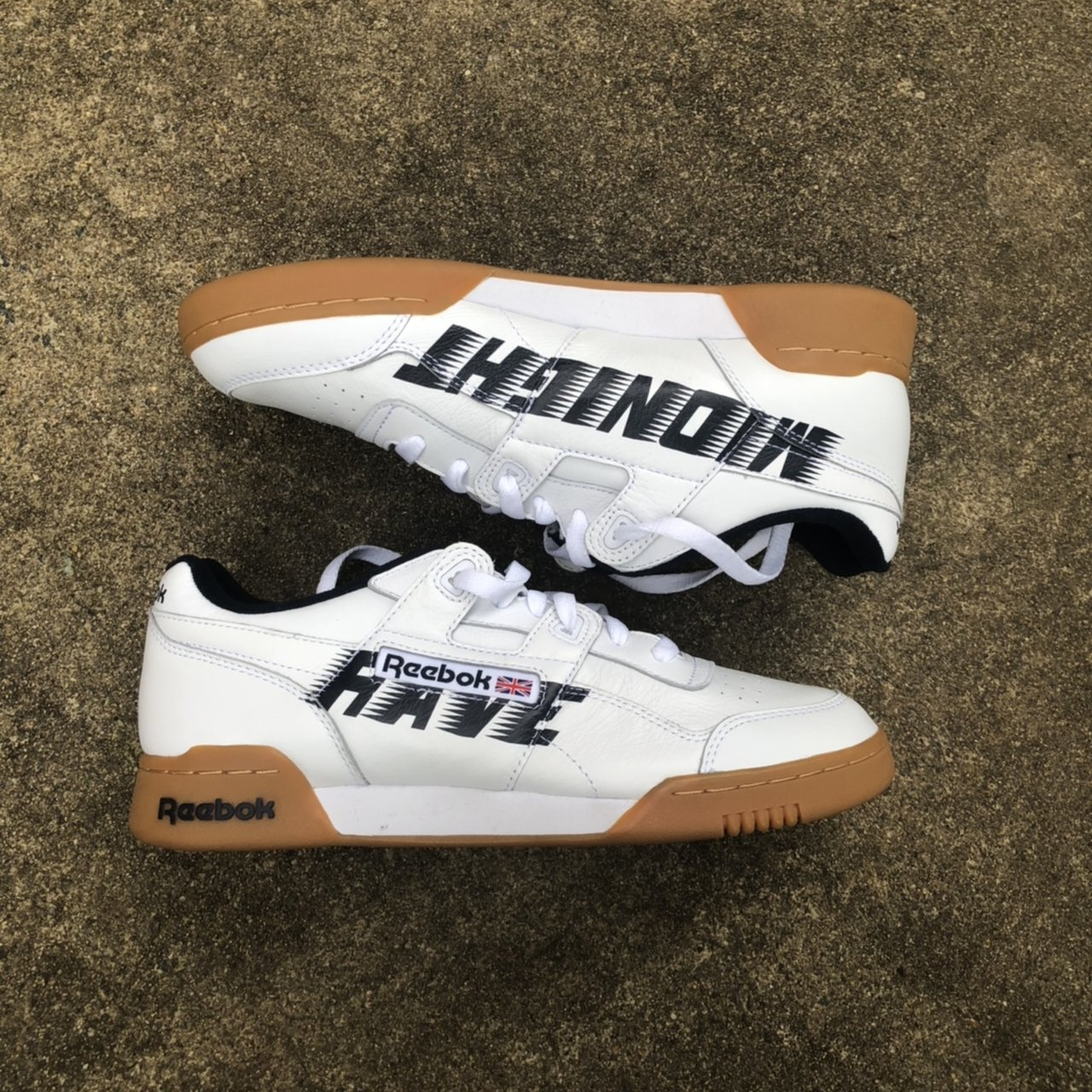 "2435a94c30ec Midnight Studios Reebok Sneakers ""Midnight Rave"""