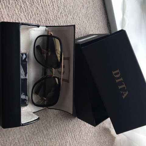 50dd8ea670a1 DITA MACH ONE sunglasses Black and rose gold. Brand New. - Depop