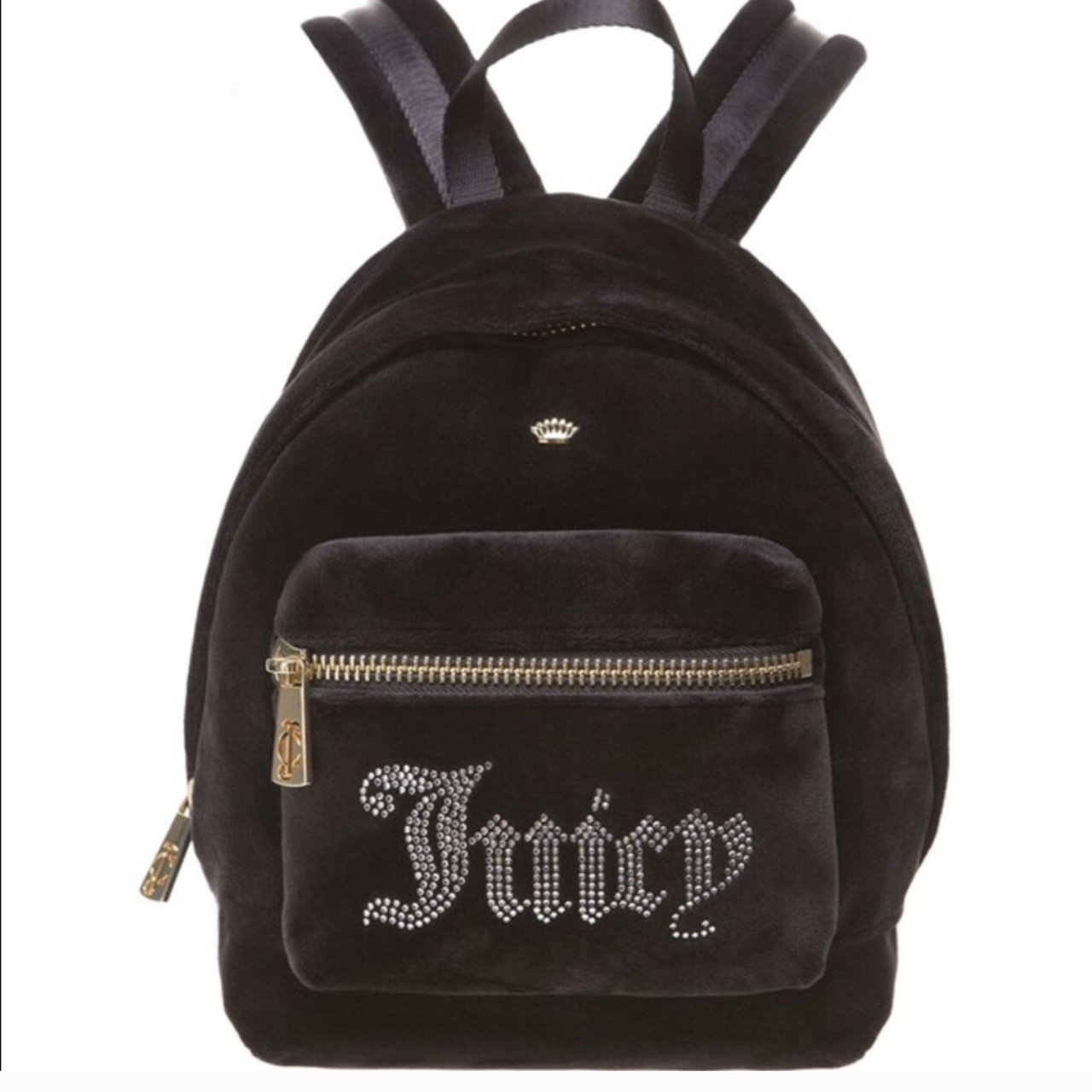 bae9491382 Juicy Couture Luxe Velour Mini Backpack Brand New - Never - - Depop