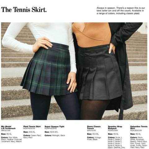 1e999efc8 Perfect condition iconic American apparel tennis skirt in n - Depop