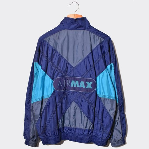 3337703fc @jazzybadger. 2 months ago. Buckinghamshire, United Kingdom. OG 1990 NIKE  AIR MAX COLOUR BLOCK TRACKSUIT JACKET