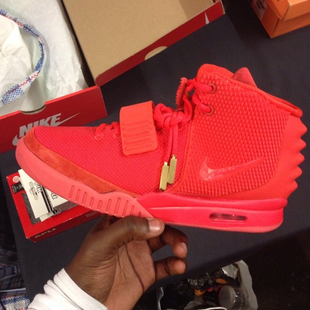 d257c5d9194 SOLD!!! Air Yeezy Red October UK9.5 DS BRAND NEW UNWORN. new - Depop