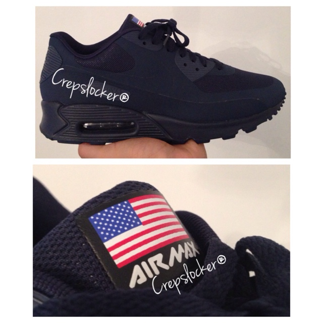 Fake Independence Day nike air max 90's Hyperfuse Depop