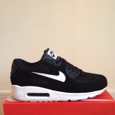 quality design 935be 4448a  lj83. 2 years ago. London Rd, Thornton Heath CR7 7ND, UK. Nike air max 90  black with white tick ...