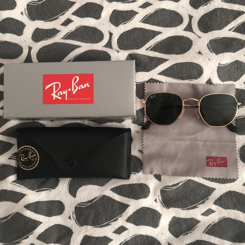 a33c2da2d8276 Ray-ban RB3548N hexagonal sunglasses. Worn once. In No as I - Depop