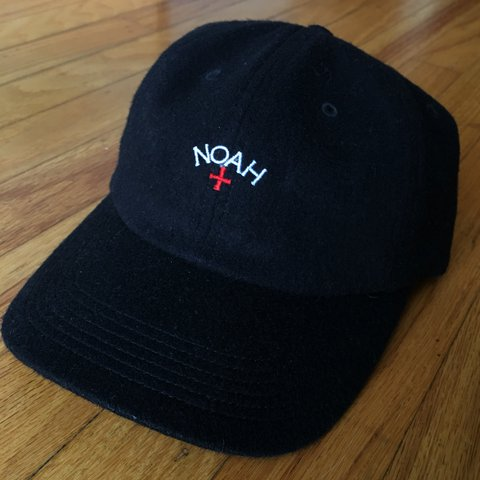 54d1665c @julianalog. last year. Pacifica, United States. Noah Core Logo Wool  Strapback Cap - One Size Fits Most