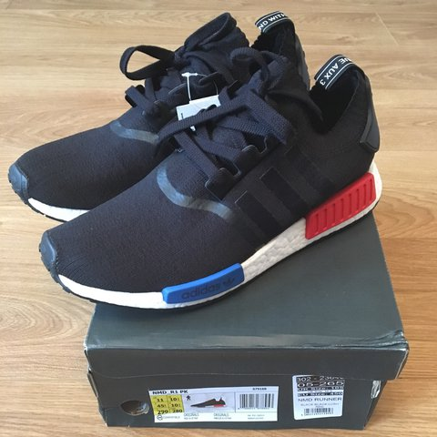 reputable site 7fb6f d75d2 BRAND NEW IN BOX ADIDAS NMD R1 OG PRIMEKNIT SIZE UK10.5 from - Depop