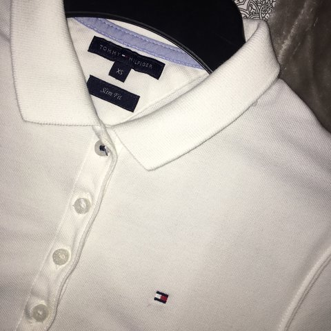 e1b196e4 @josiewheeler_. 2 years ago. Bristol, UK. Tommy Hilfiger women's XS slim  fit polo ...