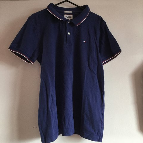 84ae6c695100a9 Tommy Hilfiger polo Going cheap - Depop