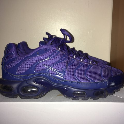 innovative design a2e31 527ed Nike Air tn - triple purple very good condition just need a - Depop