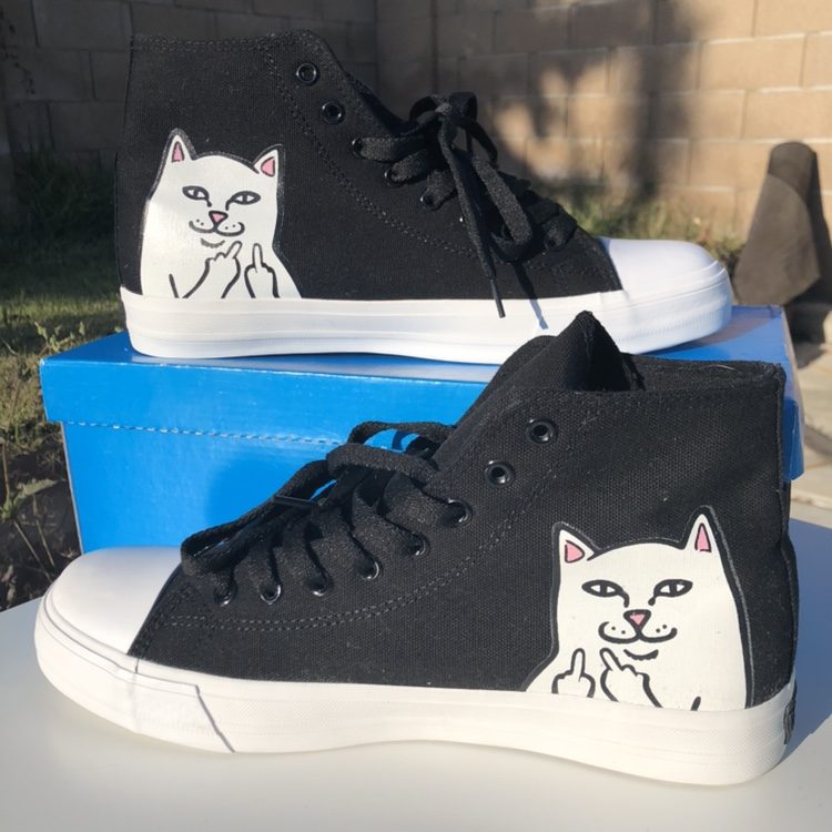 1045aba3a4a Ripndip brand new shoes Lord Nermal High-Top Shoes... - Depop