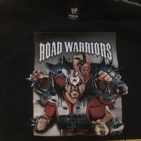 496d70397b0 Road Warriors WWE T-Shirt size Large from 2005 Very good up - Depop