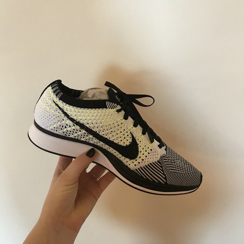 0511c580384 Men s Nike FlyKnit Racer Never worn Perfect condition to - Depop
