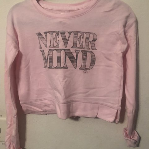 5df737c9 New with tags pink never mind shirt -can fit small #new - Depop