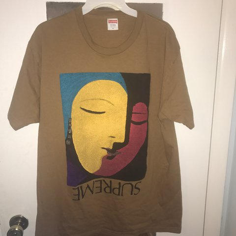 1f8c5f49cfc9 @kentonbachmann. 2 years ago. Knoxville, United States. Supreme Picasso  abstract tee ...