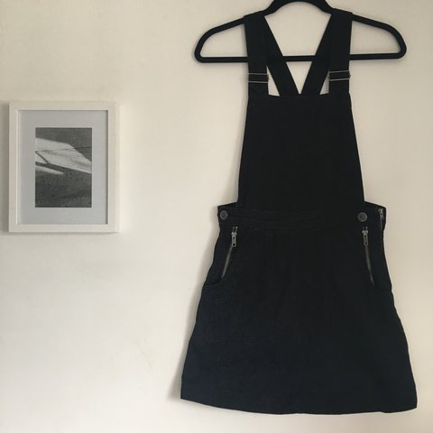 a5e2b1c0eb9 Urban Outfitters Cooperative black Skirt Overalls. Worn a of - Depop