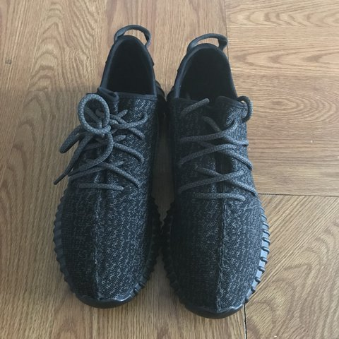 a1562547d Adidas yeezy 350 pirate black Size 10 Used Great condition - Depop