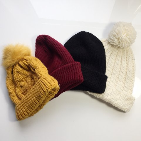 13bb64d9 TRENDY CUTE WINTER BEANIES 💖 - Price is for one / Specify - - Depop