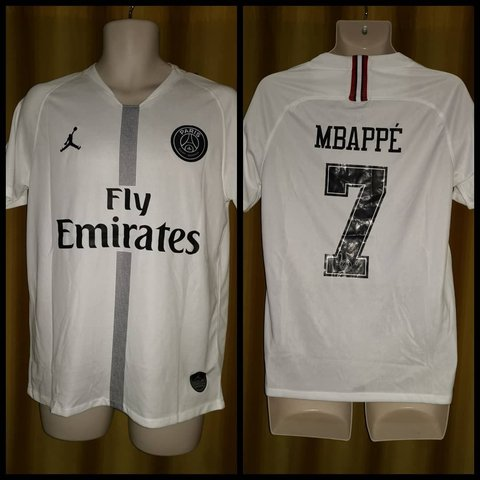 e18c870e252c 2018-19  Paris  Saint  Germain Champions League Away Shirt - - Depop