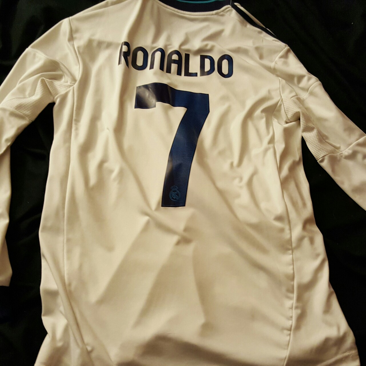 timeless design e49f2 4e453 Long sleeve cristiano ronaldo jersey only worn for... - Depop