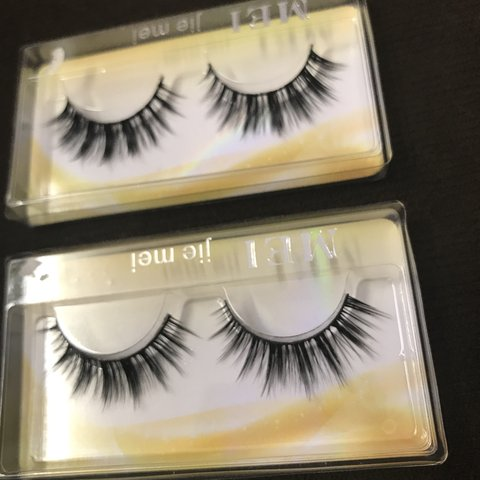 679d67daa21 Free shipping. Ig baddie false eyelashes. You can get a 2 or - Depop