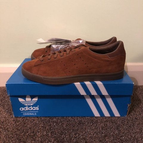 size 40 06981 c63f9 adidas Cote SPZL Brown. Deadstock. BNIBWT (Brand New In Box - Depop