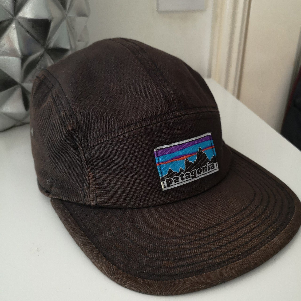 0e3a6cc0fde 💎Patagonia hat💎 100% cotton 8 10 condition Fits all free - Depop