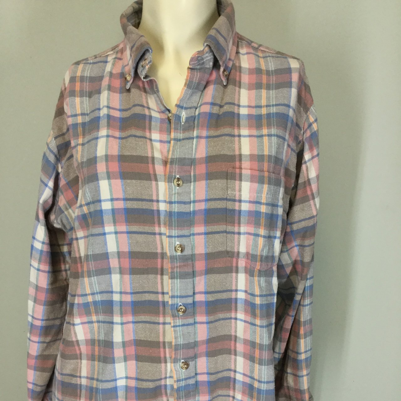 48dd524f521 Womens Pastel Plaid Flannel Shirts – EDGE Engineering and Consulting ...