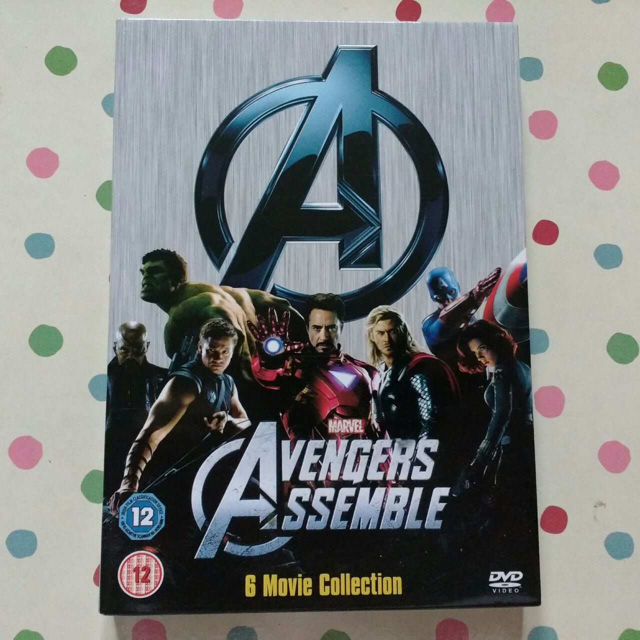 Very good condition Marvel DVD collection  £5    - Depop