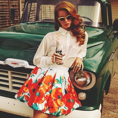 Exact Skirt As Seen On Lana Del Rey For Her Born To Depop