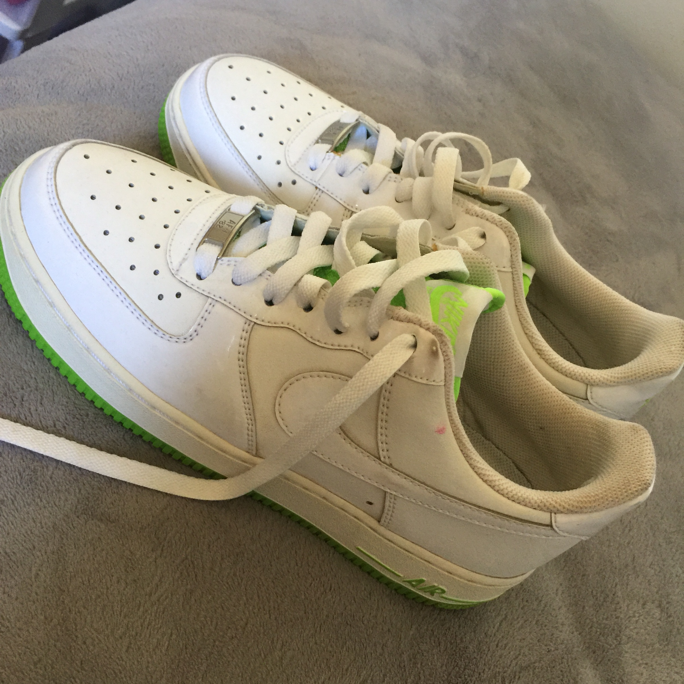 neon green forces