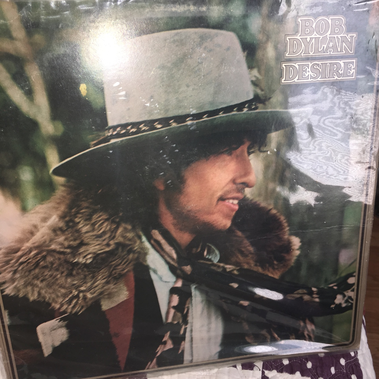 Bob Dylan - Desire vinyl LP In very great    - Depop