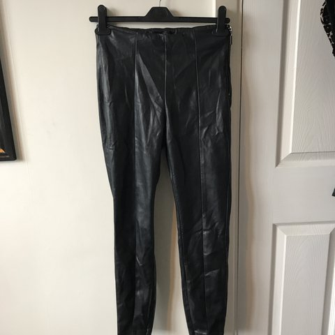 ae9b73ef4c2dd @bethco. last year. Derby, United Kingdom. Topshop Leather leggings in Petite  so will fit legs ...
