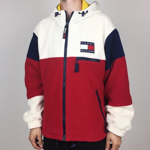 eb15f7be5439 🚨 Tommy Grail! 🚨 Ultra RARE Vintage 90s Tommy Hilfiger Big - Depop