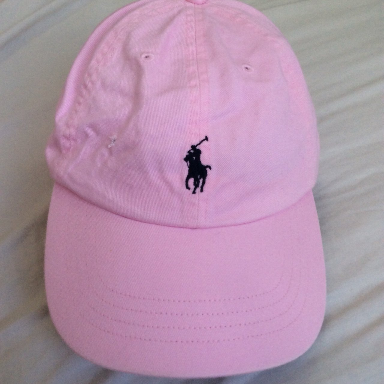 Ralph Lauren Polo cap in pink and black •Great condition a - Depop 91e6db5477f