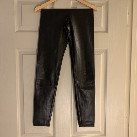65775ce74d37e2 @pgshe. last month. Tampa, United States. Aritzia Wilfred free Daria ankle  pant in black faux leather ...