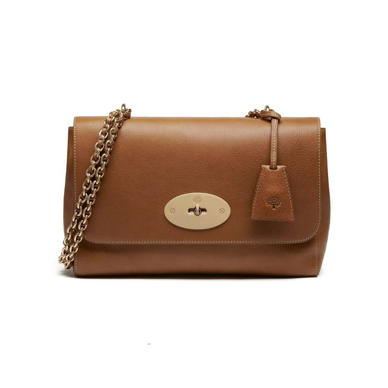 f05d6a74850a Brown Medium Lily Mulberry bag Matching purse Selling or - Depop