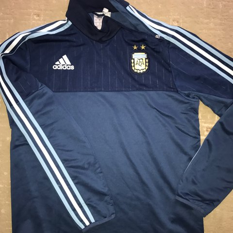 80628d5c9 ... coupon for adidas climacool argentina football training drill top used  depop 81bb7 f16b3