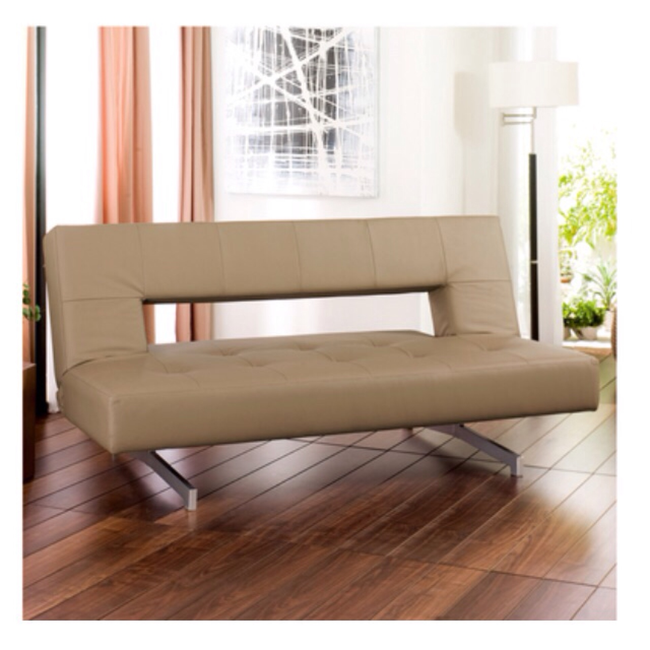 Cool For Sale A Great Dwell Pisa Sofa Bed In Tan Faux Depop Gmtry Best Dining Table And Chair Ideas Images Gmtryco