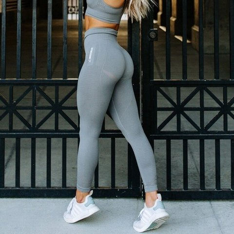 eb42a7b31fe17 The Original GYMSHARK seamless leggings ~~NO TRADES~~ SLATE - Depop