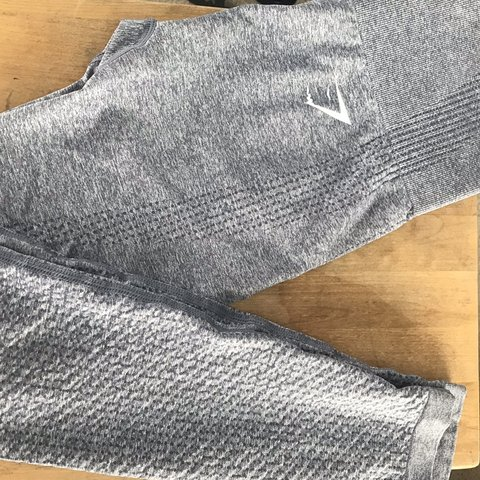e4ecfabc87fec @viaaries. 25 days ago. Los Angeles, United States. Gymshark vital seamless  leggings. Size small. Steel blue grey marl