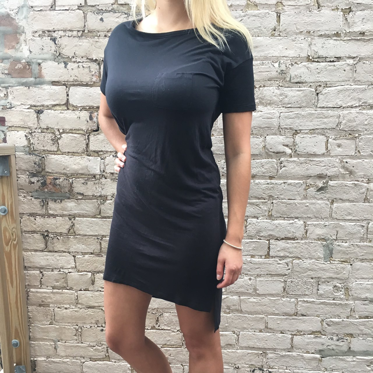 T Alexander Wang T Shirt Dress Hits Right Below The Knees Depop
