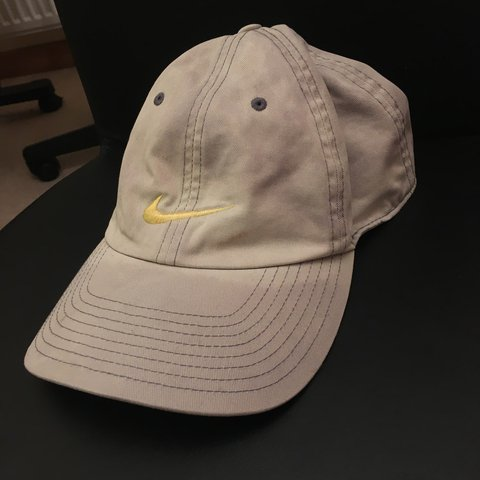 f69a5b67931 Vintage Nike cap• •Nike hat• •Condition 7 10• Few small and - Depop
