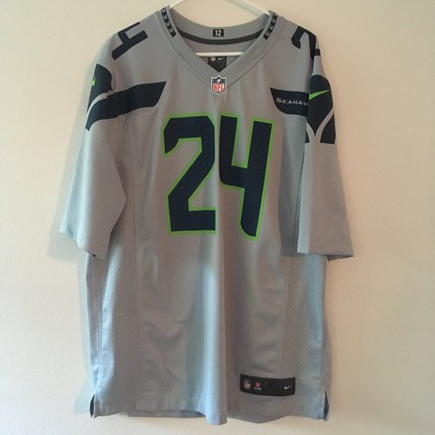 Cheap Beastmode Need I say any more? Seattle Seahawks Wolf Grey Depop  for sale