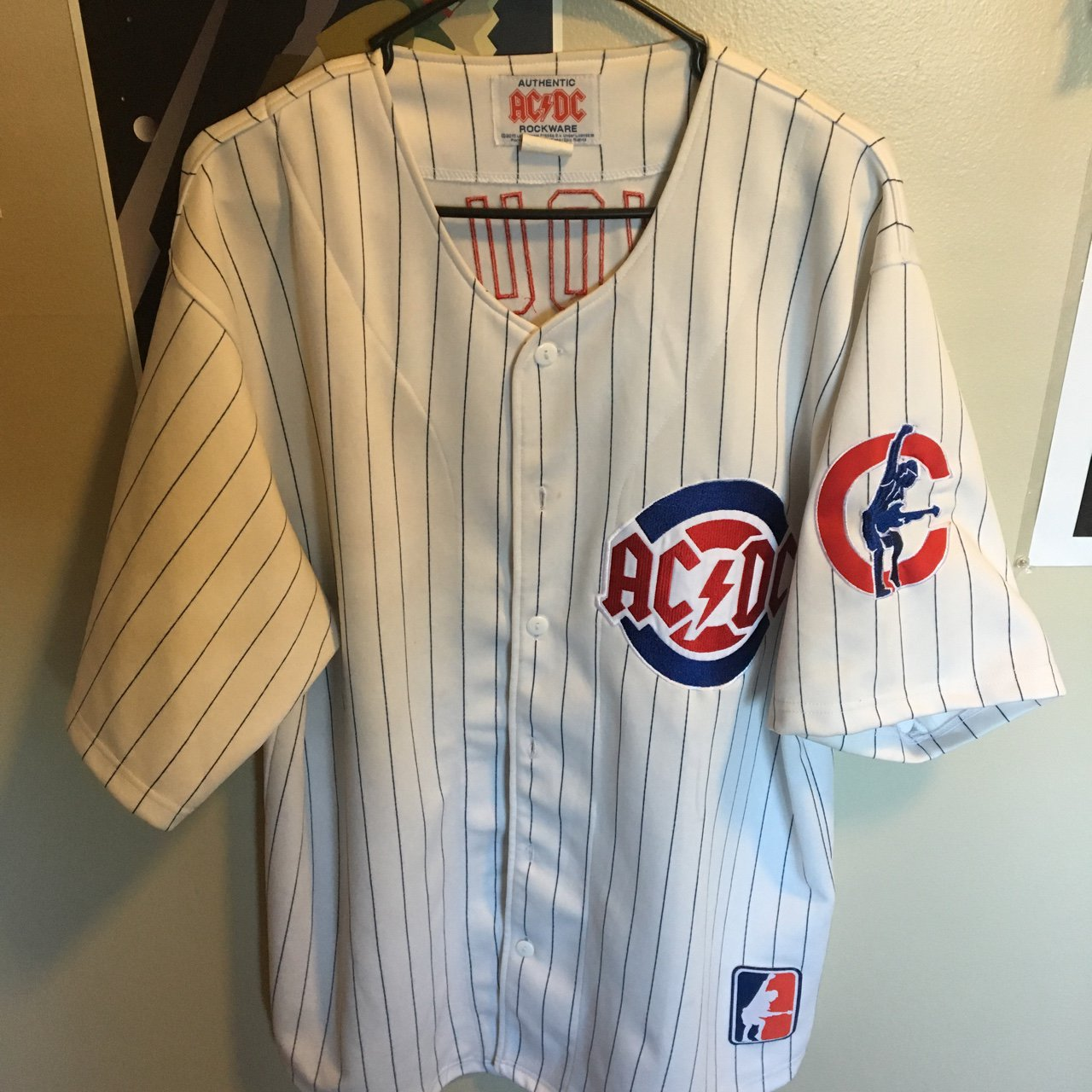 Acdc Baseball Jersey Chicago Cubs Limited Edition Acdc Depop