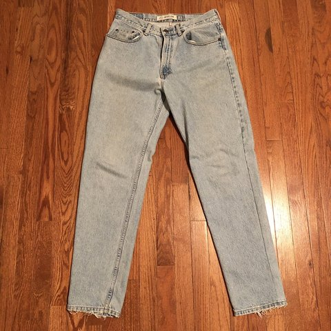 "6ebca12a Vintage Gap Denim Pants Inseam: 31"" Waist: 16"" Hem: from 8"" - Depop"
