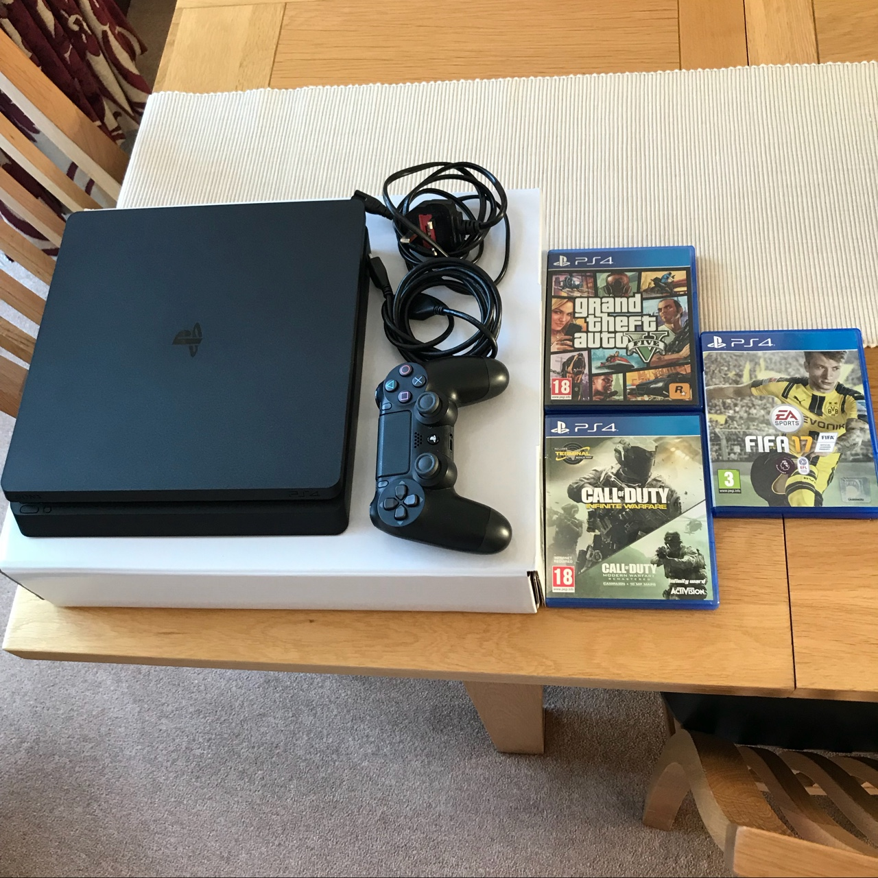PS4 Slim 1TB Only used multiple of times Great    - Depop