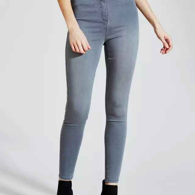 order exclusive shoes 50% price GREY JESSIE HIGH WAISTED JEANS (£20) (NEW) Jessie... - Depop