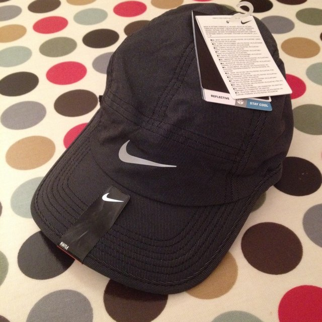Nike dri fit running clima fit hat cap - unworn with tags on - Depop 63a64fe17e4